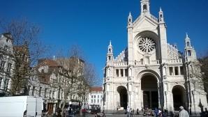 l'eglise sainte catherine de Bruxelles
